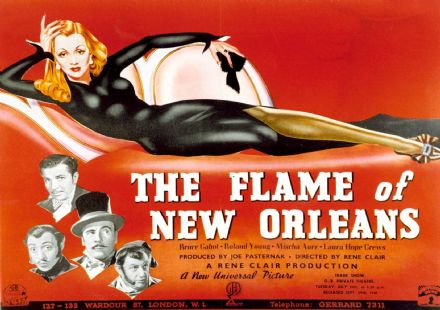 The Flame of New Orleans. Vintage Film/Movie Print/Poster. Sizes: A4/A3/A2/A1 (002829)